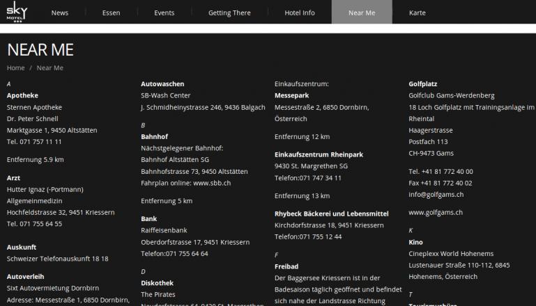 Skymotel Kriessern Schweiz Petra Gstöhl skymotel.ch Digitaler Concierge