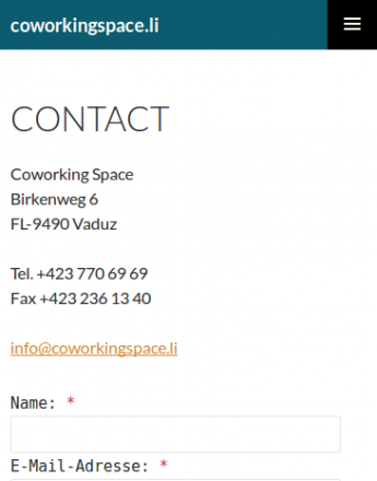 Coworking Space Vaduz Liechtenstein flexibler Büroarbeitsplatz Sitzungszimmer mieten coworkingspace.li