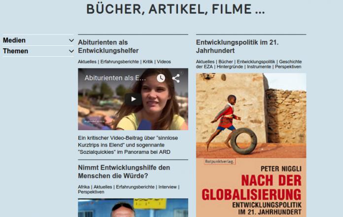 Verein Kipu Vaduz Liechtenstein Entwicklungszusammenarbeit Kuska.li Online-Seminar Linksammlung
