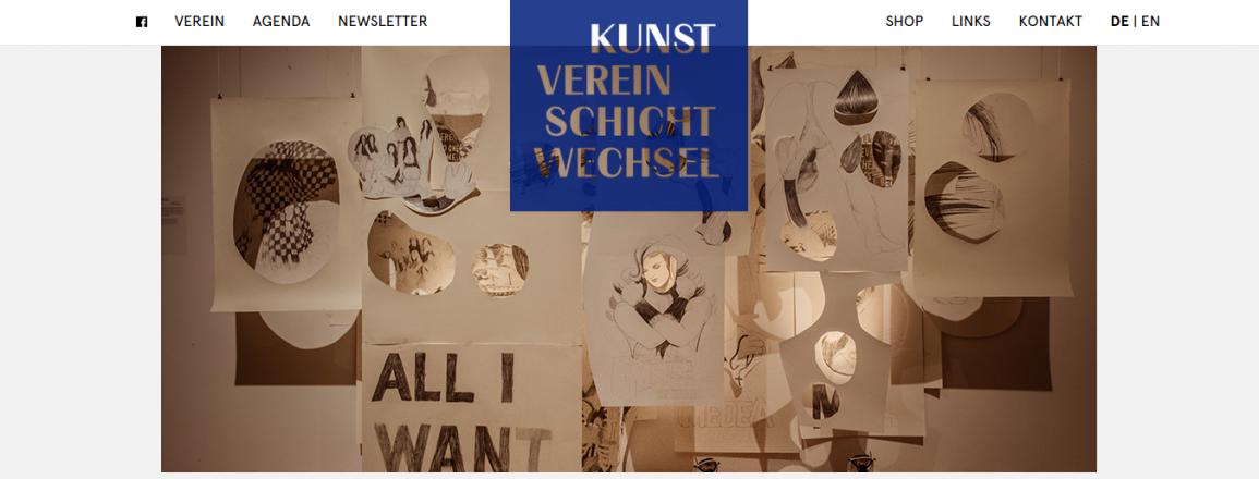 Kunstverein Schichtwechsel Shop Agenda Newsletter Fremdsprachig schichtwechsel.li