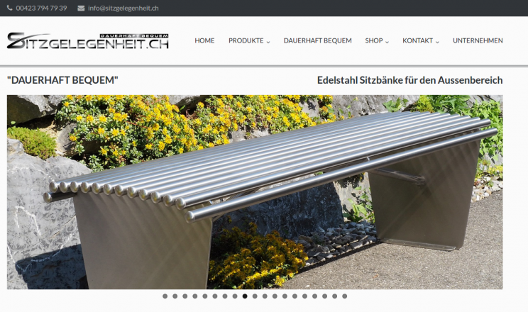 sitzgelegenheit.ch, Poly-Tech Anstalt, 9492-Eschen, Silvan Marxer