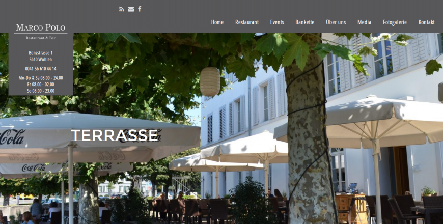 Marco Polo Restaurant, 5610 Wohlen, Rene Holenweger, 1