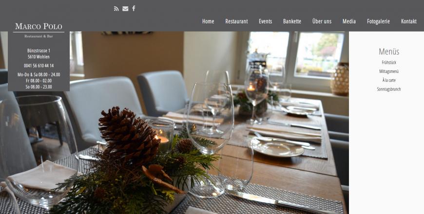 Marco Polo Restaurant, 5610 Wohlen, Rene Holenweger, 2