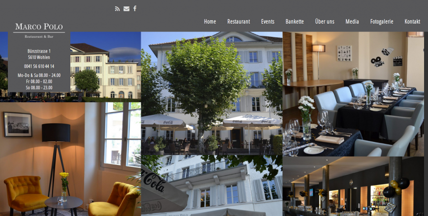 Marco Polo Restaurant, 5610 Wohlen, Rene Holenweger, 3