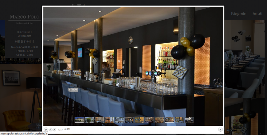 Marco Polo Restaurant, 5610 Wohlen, Rene Holenweger, 4