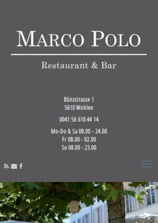 Marco Polo Restaurant, 5610 Wohlen, Rene Holenweger, 5