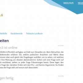 Wahlhilfe.li, Robin Schädler, smartvote.ch, Landtagswahlen Liechtenstein 2017